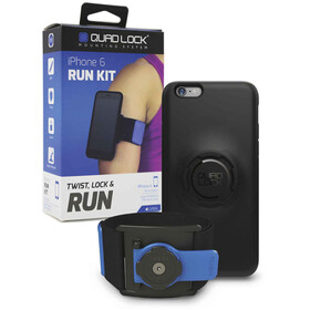 Quad Lock Run Kit iPhone 6/6s blauw/zwart